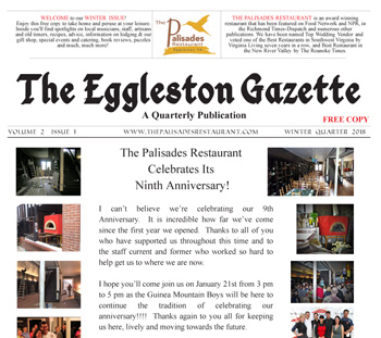 Eggleston Gazette