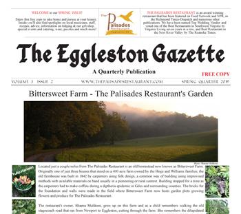 Bittersweet Farm - The Palisades Restaurant's Garden